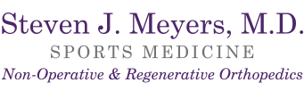 Regenerative Medicine including Platelet Rich Plasma Injections (PRP Injections) and Stem Cell Therapy — Steve Meyers MD — Fort Worth Texas Logo